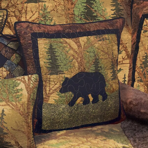 Glacier Bay 100% Cotton Throw Pillow by Loon Peak
